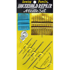 Assorted Beading & Craft Needles Household Repair Needle Set 26 pcs