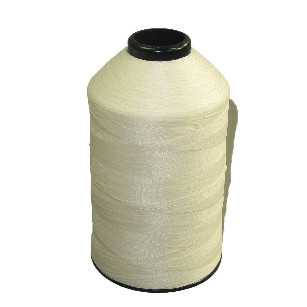 Tex 70 White - Premium Bonded Nylon Sewing Thread #69 8oz 3000 yards