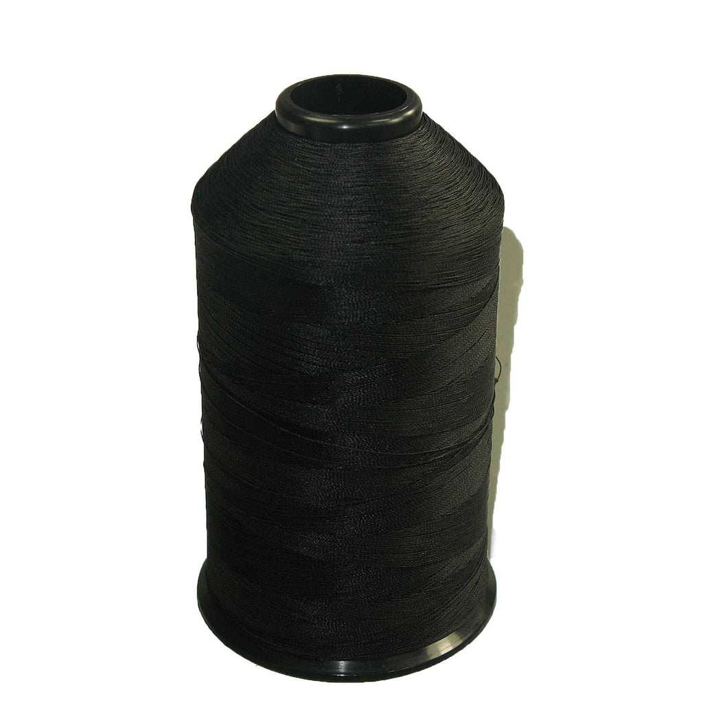 Tex 70 Black - Premium Bonded Nylon Sewing Thread #69 8oz 3000 yards