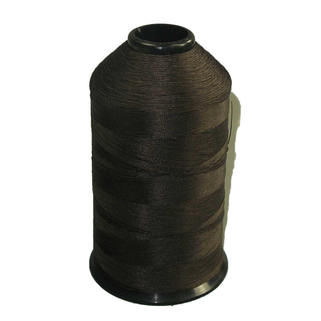 Tex 70 Dark Brown - Premium Bonded Nylon Sewing Thread #69 8oz 3000 yards