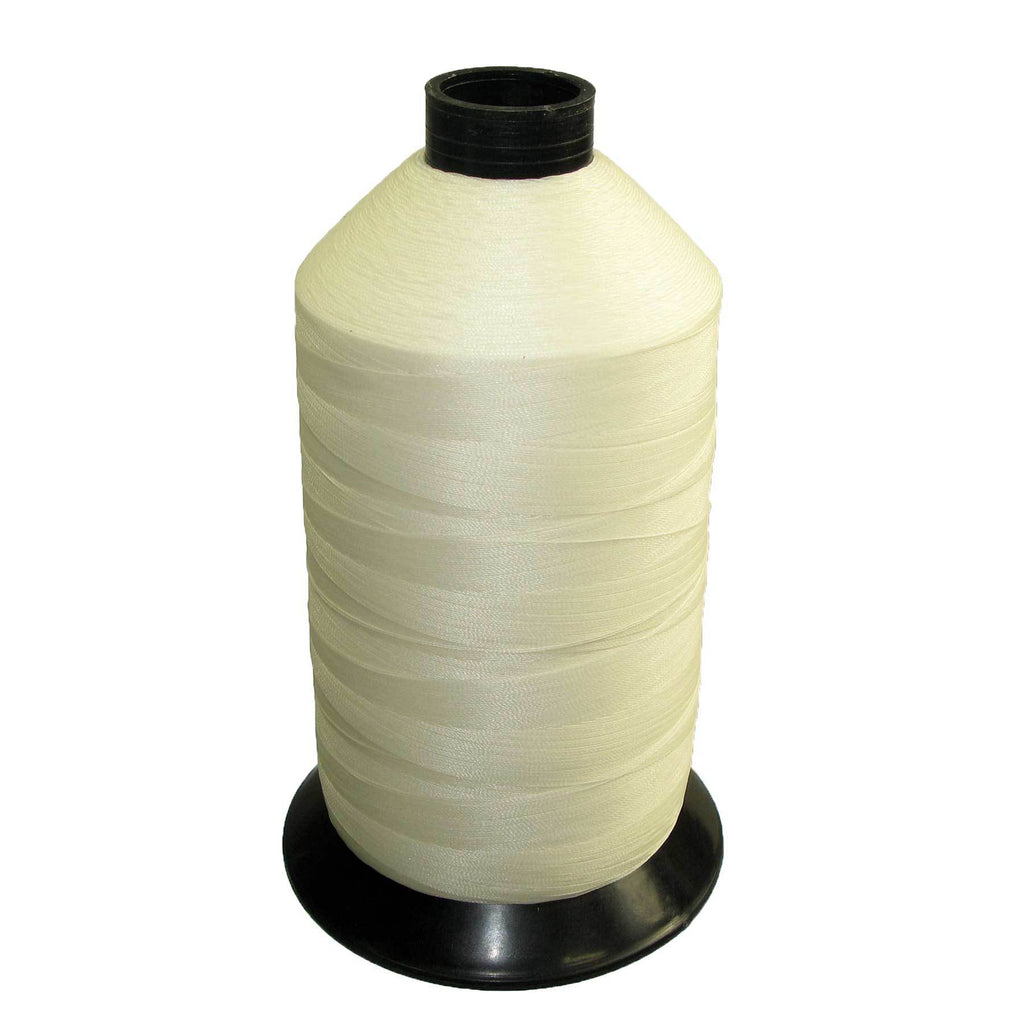 Tex 70 White - Premium Bonded Nylon Sewing Thread #69 1lb 6000 yards