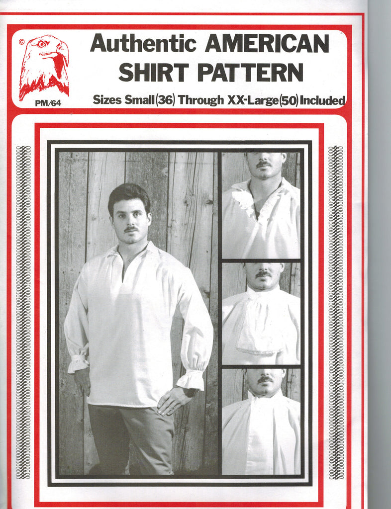 Eagle's View Authentic American Shirt Pattern