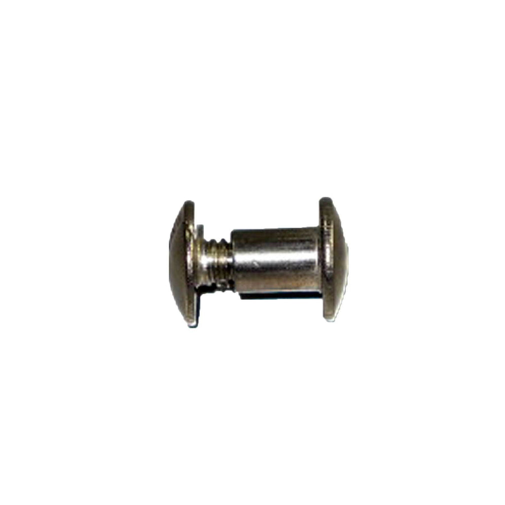 "1/4"" Chicago Screw Post (0.6 cm) Stainless Steel 100pk"