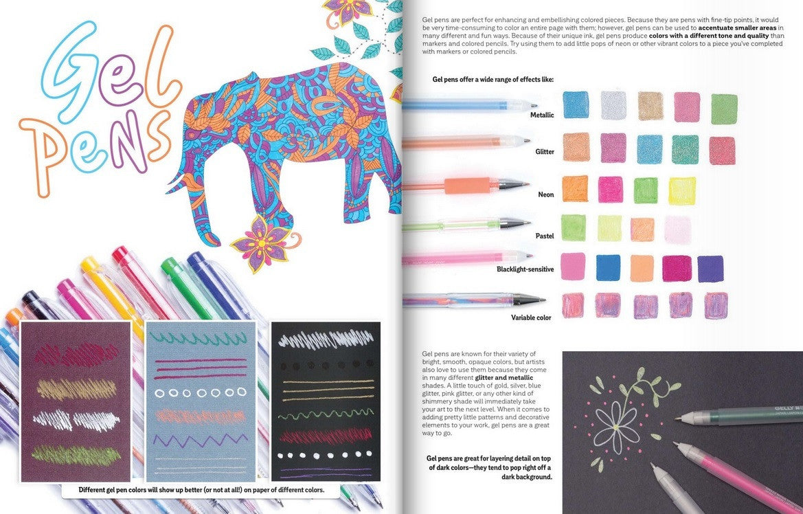New Guide To Coloring For Crafts Adult Books And Other Colouristas