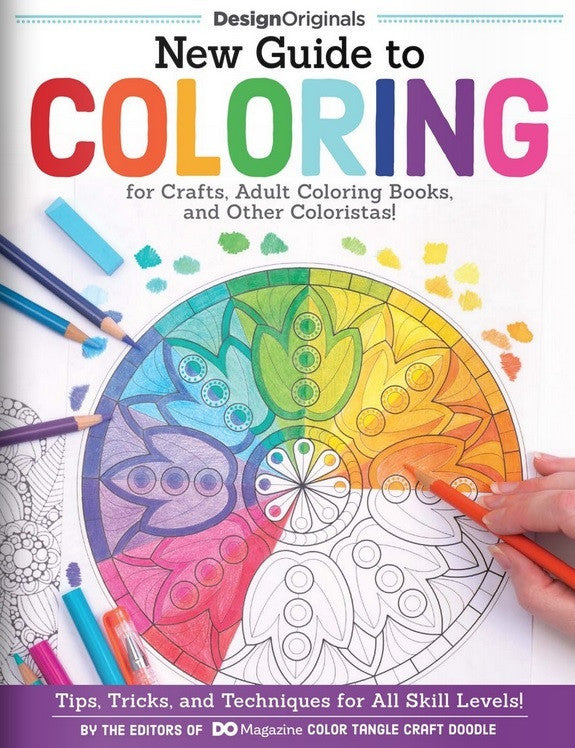 New Guide to Coloring for Crafts, Adult Coloring Books, and Other Colouristas!