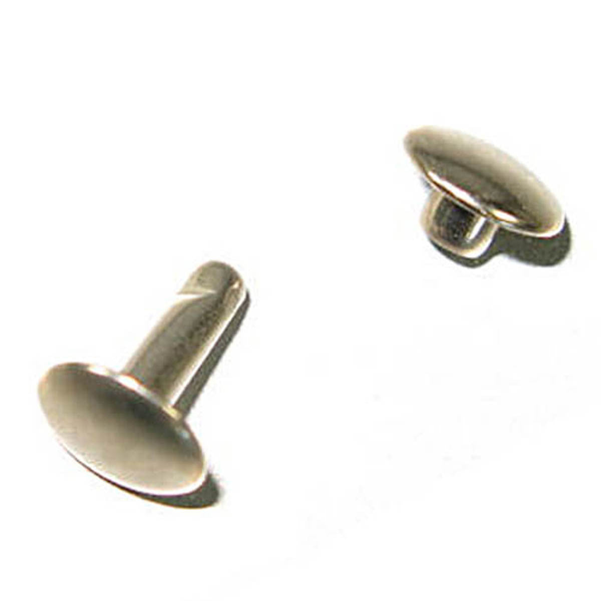 Double Cap Rapid Rivets 7mm Cap 10mm Post - 2 Colors (3310-2)