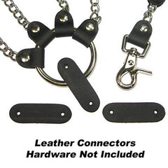 "Image of 18-90-4 - Leather Connector 3/4""x 2-3/8"" Buffalo"