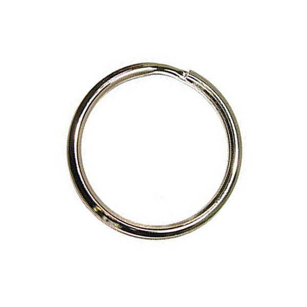 "Image of 61-109014-1 - 1-1/2"" Split Key Ring/Beveled  10Pk"