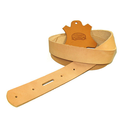 "1-1/2"" Belt Blank with Snap Holes  7/8 oz"