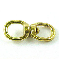"Image of 3-087-12 - 1/2"" Round Eye Swivel Solid Brass"