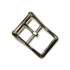 "Image of 1560-00 - 1"" Center Bar Roller Buckle Nickel Plated"