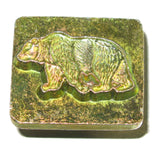 3-D Bear Leathercraft Stamp 88304-00
