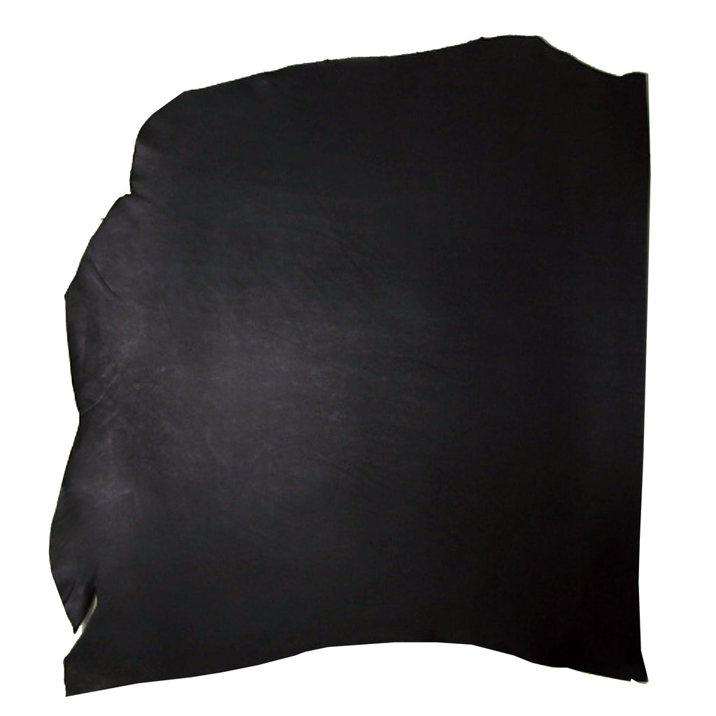 Genuine Vegetable Tan Cowhide Shoulder Black 4-5oz Average 7-8 sqft