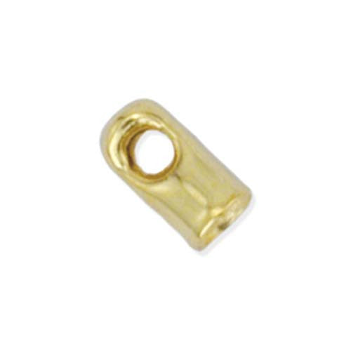 Cord Ends - 1.5mm - Gold Plated