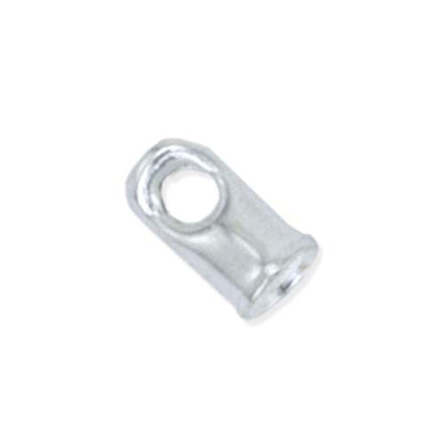 Cord Ends - 1.5mm - Silver Plated