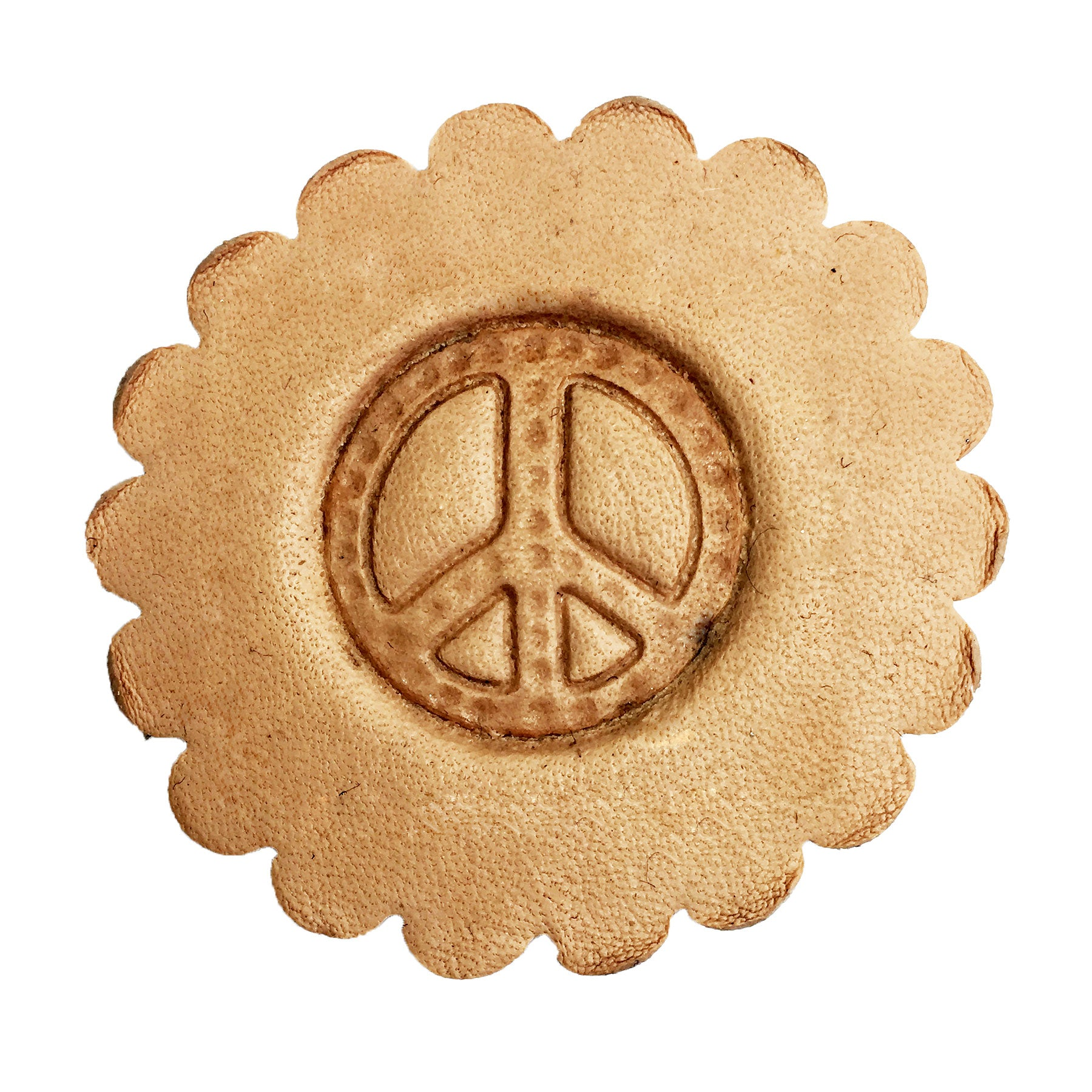 3-D Leathercraft Stamp Peace Symbol 8570-00
