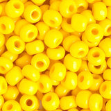 Image of 66214449 - 33/0 Golden Yellow Czech Glass Seedbead 40 Grams