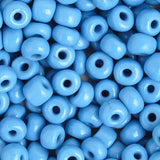 Image of 66214447 - 33/0 Lite Blue Czech Glass Seedbead 40 Grams