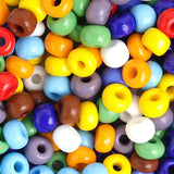 Image of 66201012 - 33/0 Opaque Assorted Czech Seed Beads 40 grams
