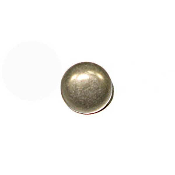 "3/8"" Round Spots Antique Nickel Plated 100 Pack"