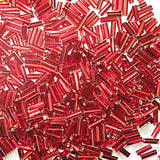 Image of 67402032 - #3 Bugles  Dark Red Silver Lined