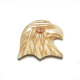 Image of 33801003-1 - Antique Bone Bead Eagle Head