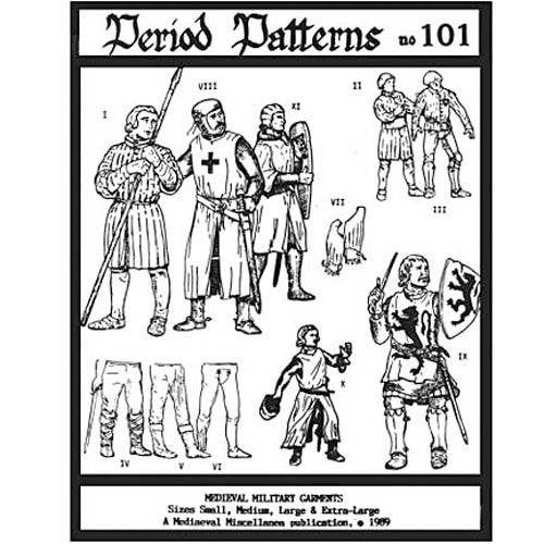 Medieval Military Garments #101