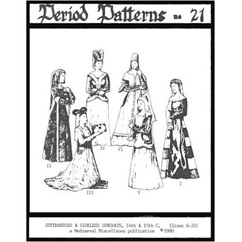 Cotehardies and Sideless Surcoats #21