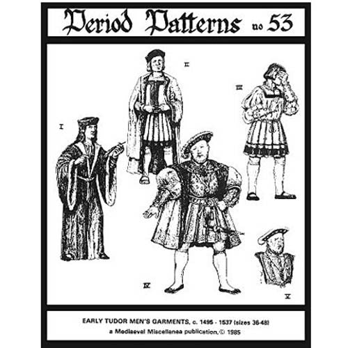 Early Tudor Men's Garments #53