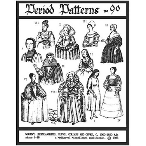 Women's Undergarments, Ruffs, Collars & Cuffs #90