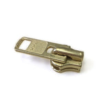 #10 YKK Metal Short Tab Slider Gilt 5 Pack Zipper Pull