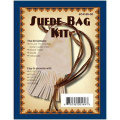Fringed Suede Purse Kit