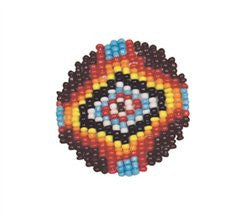 Image of 5531-00 - Capri Beaded Rosette 1-1/2""