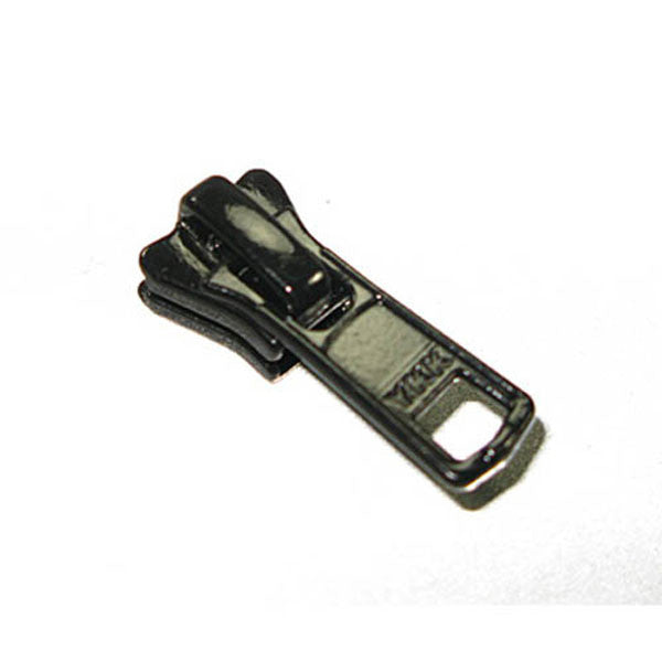 Image of 60-00022 - #5 Vislon Black Short Tab Slider Ykk 10 Pack