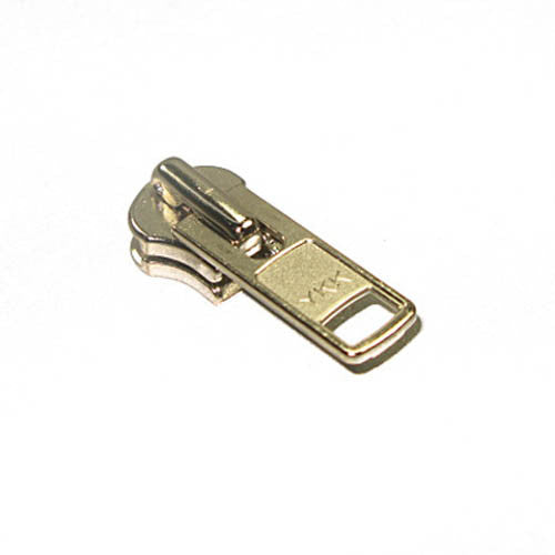 Image of 60-86301 - #10 YKK Metal Short Tab Slider Nickel 5 Pack