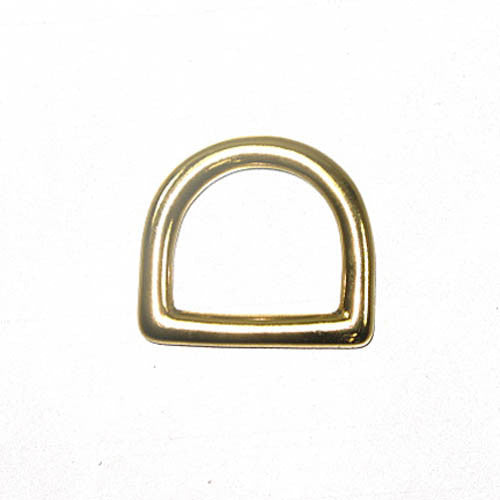 "3/4"" Solid Brass Dee 10 Pack"