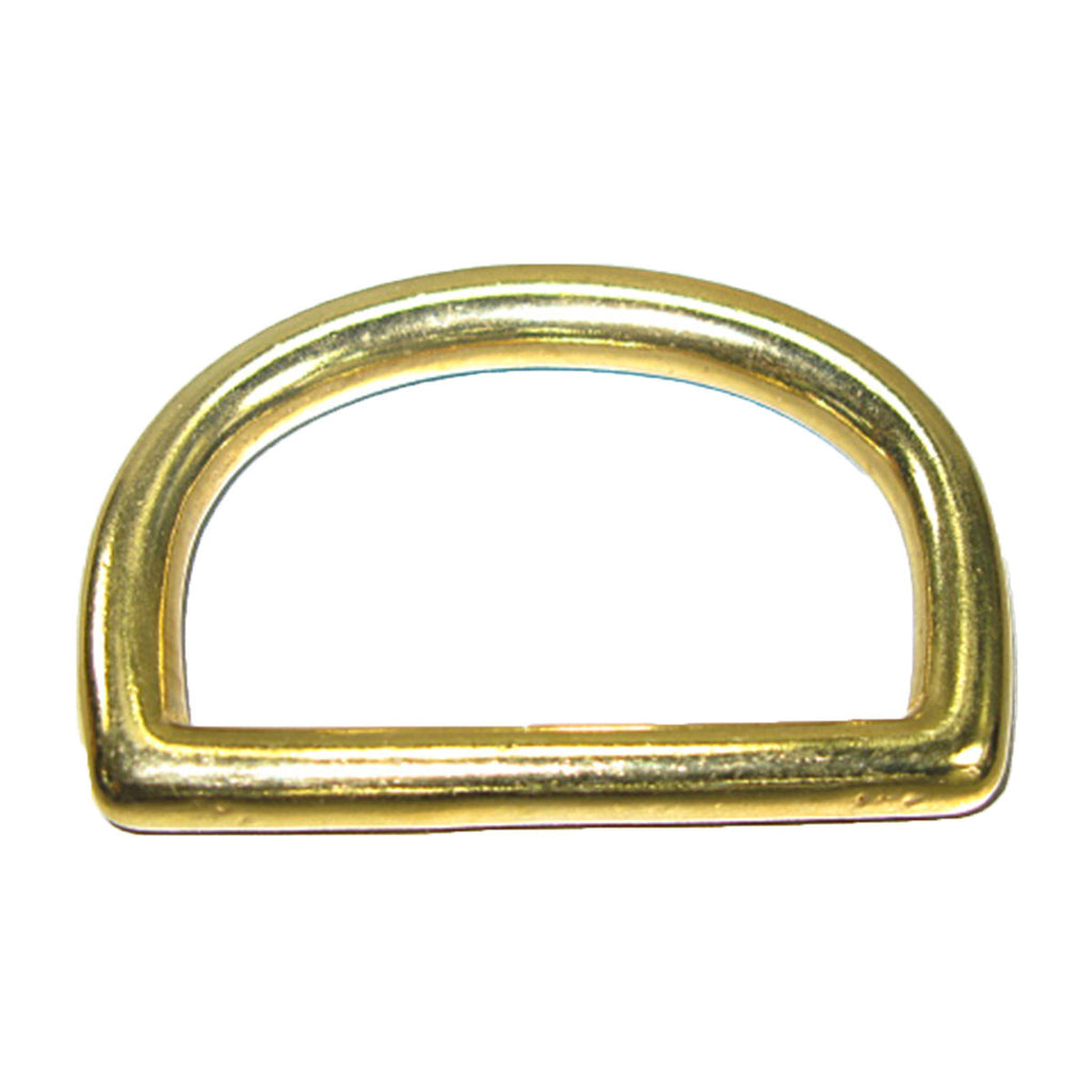"2"" Solid Brass D-Ring (50mm)"