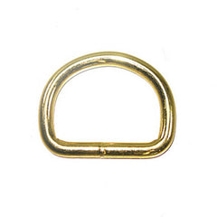 "Image of 61-10715-1 - 1-1/2"" D-Ring Brass Plated 10 Pack"