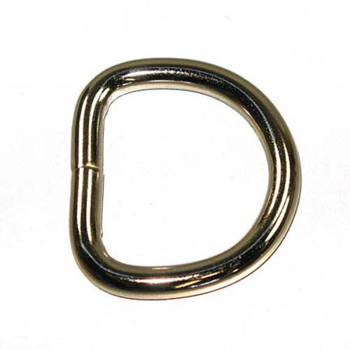 "1-1/4"" D-Ring Welded 6mm 10 Pack"