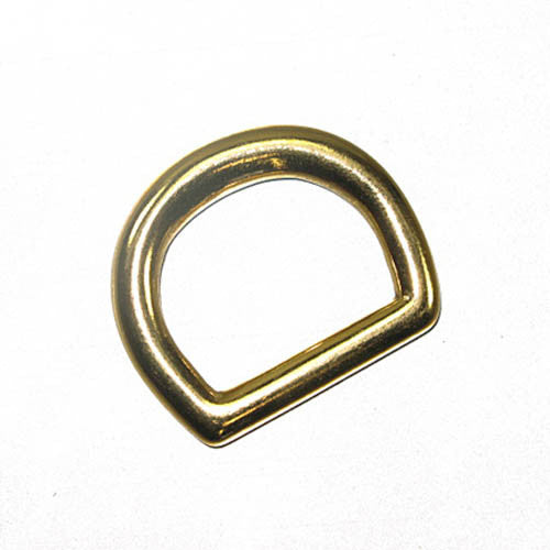 "Image of 61-10717-1 - Solid Dee 1"" Solid Brass 10/Pk  1132-11"