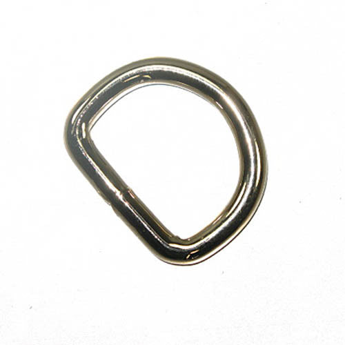 "Welded Dee 1"" (2.5 cm) Nickel Plated 10 Pack"