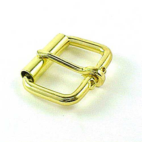 "1-1/2"" Roller Buckle Brass Plated"