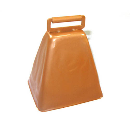 "3-7/8"" Long Distance Cow Bell With Roller Eye"