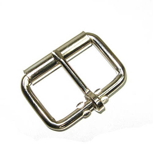 "Image of 61-1522-02 - 1-3/4"" 6.2mm Roller Buckle Nickel Plated"