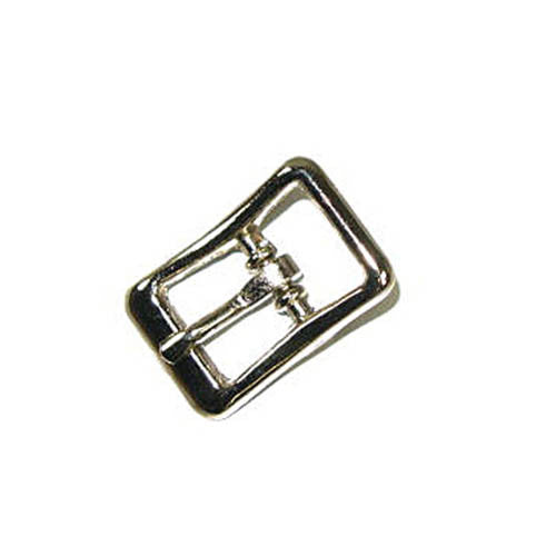 "Strap Buckle 3/8"" Nickel Plated  1541-00"