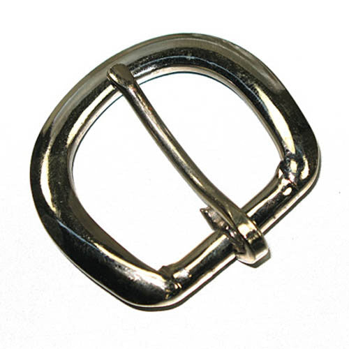 "Image of 61-1633-03 - Economy Heel-Bar Buckle 1"" Nickel Plated"