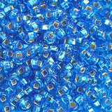 Image of 65402276 - 6/0 S/L Light Blue Glass Seed Beads 40 Grams