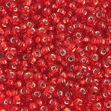 Image of 65401682 - 6/0 S/L Red Glass Seed Beads 40 Grams