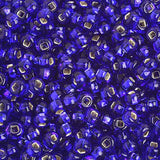 Image of 65401681 - 6/0 S/L Royal Blue Glass Seed Beads  40 Grams