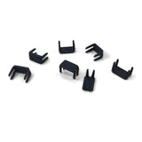YKK #10 Bottom Stops Black Extra Heavy 50 Pack Zipper Stop